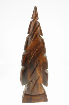 Pine Tree - Ironwood Carving  |  EarthView