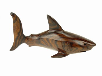Shark - Ironwood Carving  |  EarthView