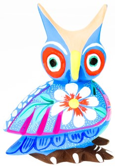 Owl - Oaxacan Wood Carving  |  EarthView