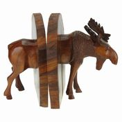 View Moose Body Bookends
