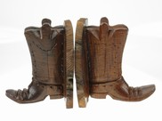 View Cowboy Boot Bookends