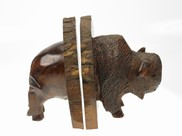 View Buffalo Body Bookends