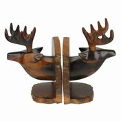 View Deer Head Bookends