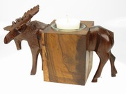 View Moose Candleholder
