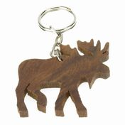 View Moose Keychain