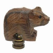 View Bear Finial, Rough