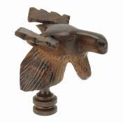 View Moose Head Finial