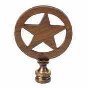 View Texas Star Finial
