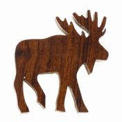View Moose Silhouette Magnet