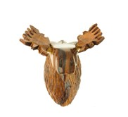View Moose Head 3-D Magnet