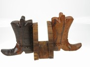 View Cowboy Boot Napkin Holder