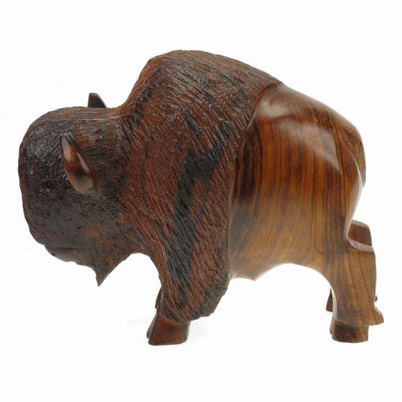 Buffalo Ironwood Carving Earthview