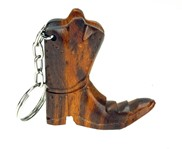 View Cowboy Boot 3-D Keychain