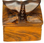 View Rustic Whale Tail Box