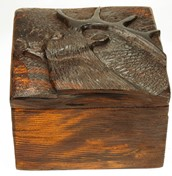 View Rustic Elk Box