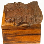 View Rustic Buffalo Box