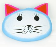 View Cat Head Magnet